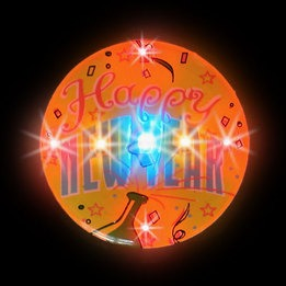 LED Light-up magnet - Happy New Year