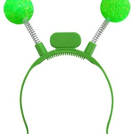 Light-up LED ball boppers