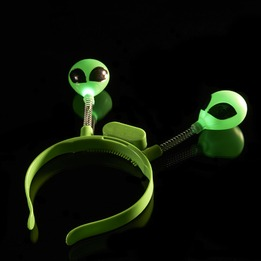 Alien flashing LED boppers -pack of 12