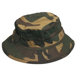 Camouflage bush bucket hat