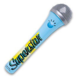Microphone Inflatable 15""