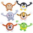 Animal buddy inflatable 18""