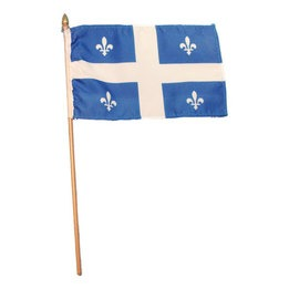 "Flag - Quebec 4"" x 6"""