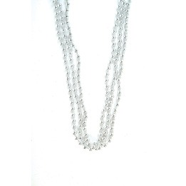 Bead necklace 33\""