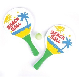 Beach Paddle Game Set