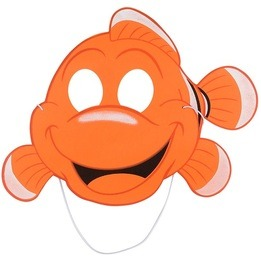 Clown Fish Foam mask