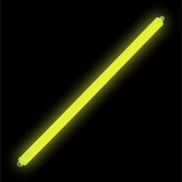 "15"" Cyalume Impact Self Activating Lightstick - Yellow 12 HRS"