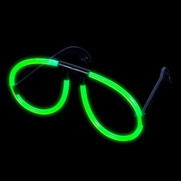 Glow Glasses Green- pack of 12
