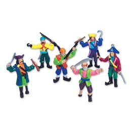 Pirate Figurines 2.5""